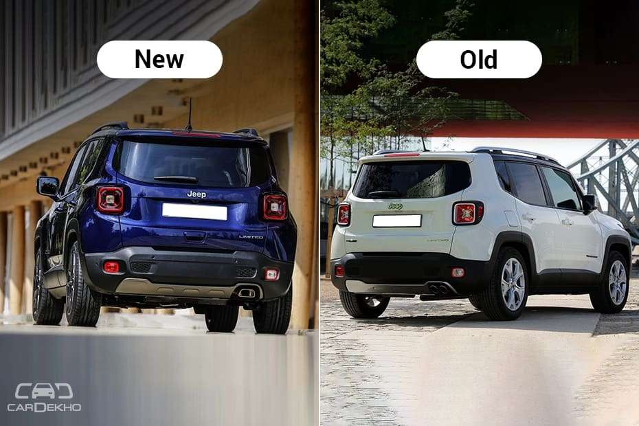 Jeep Renegade: New vs Old