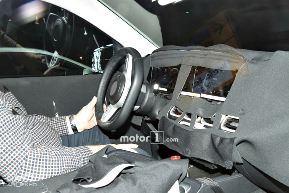Mercedes-Benz GLE Spied