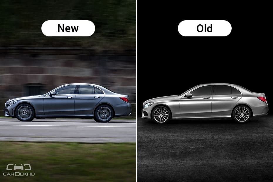 2019 Mercedes Benz C Class Facelift New Vs Old Major