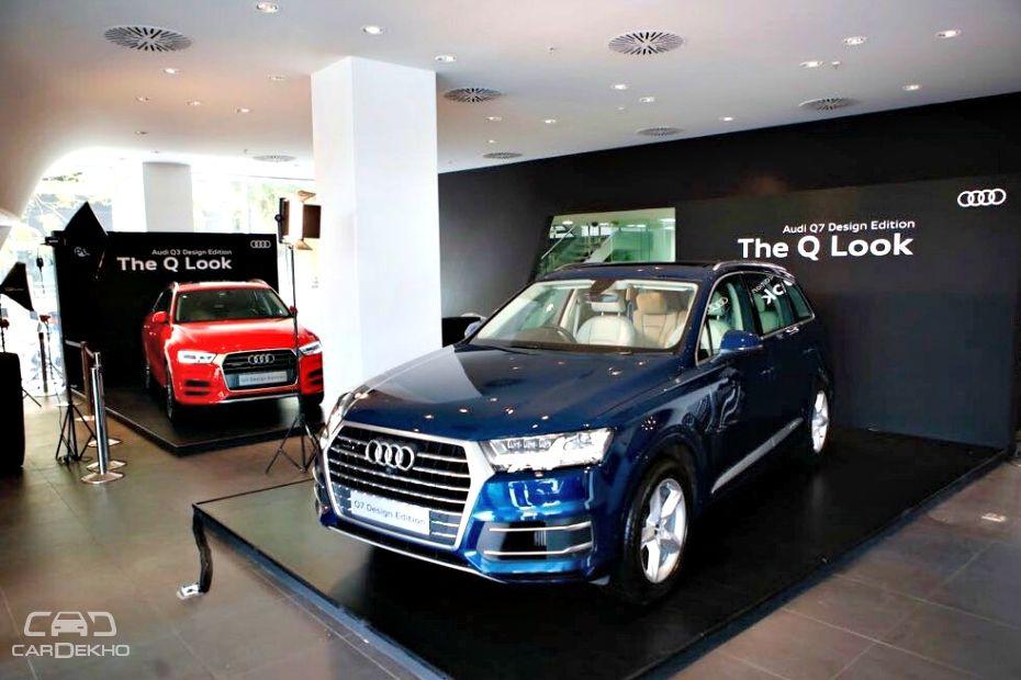 Audi Q3 & Q7 Design Edition