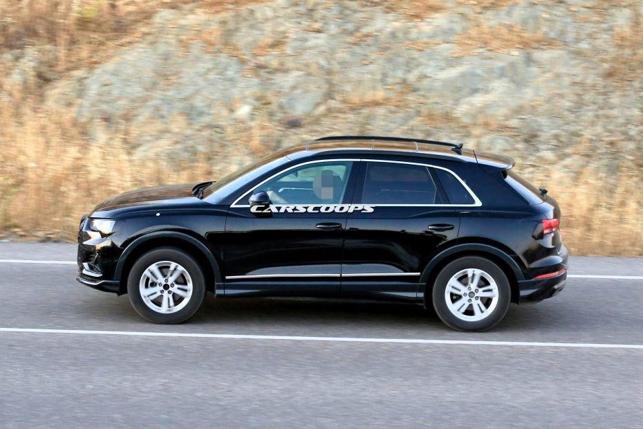 2019 Audi Q3 Spied Testing