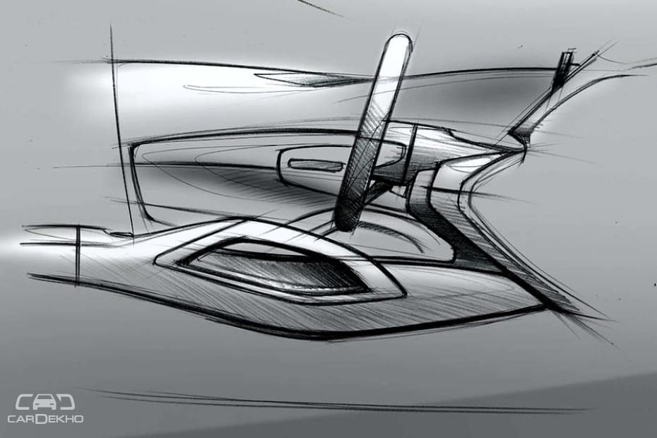 Mercedes-Ben GLE Official Sketches