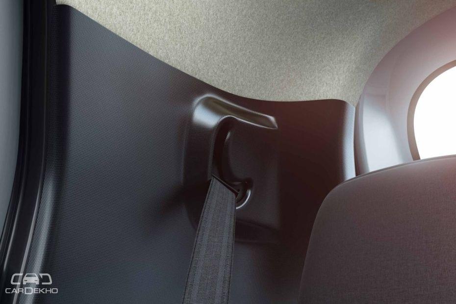 2018 Renault Kwid's ELR Seatbelts