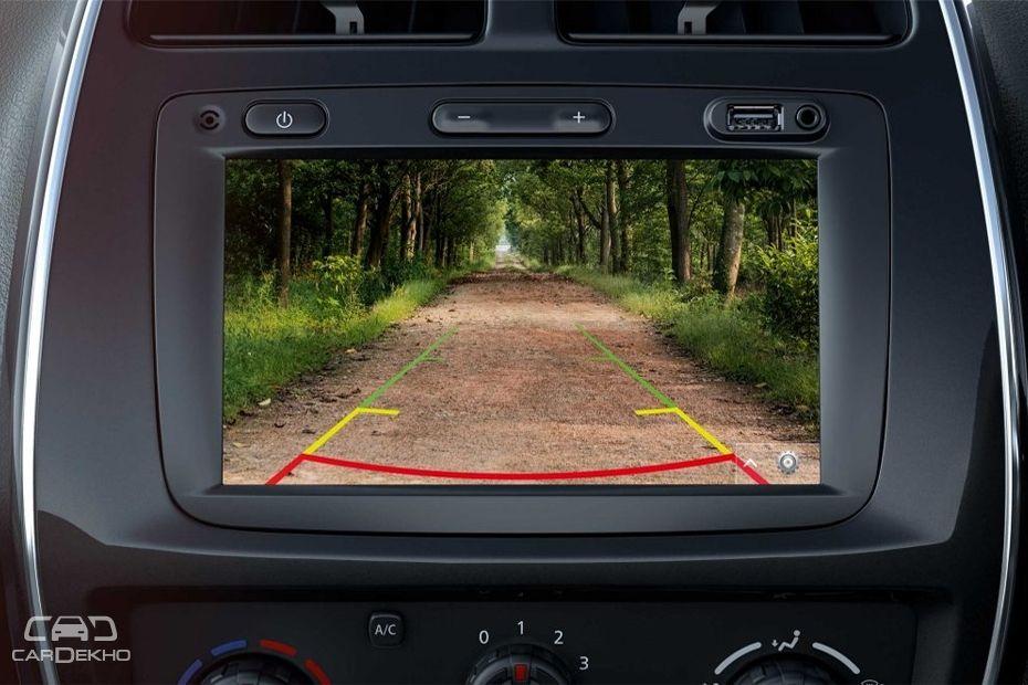 2018 Renault Kwid's Reversing Camera