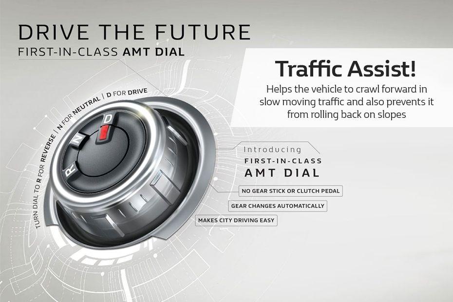 Renault Kwid AMT Dial