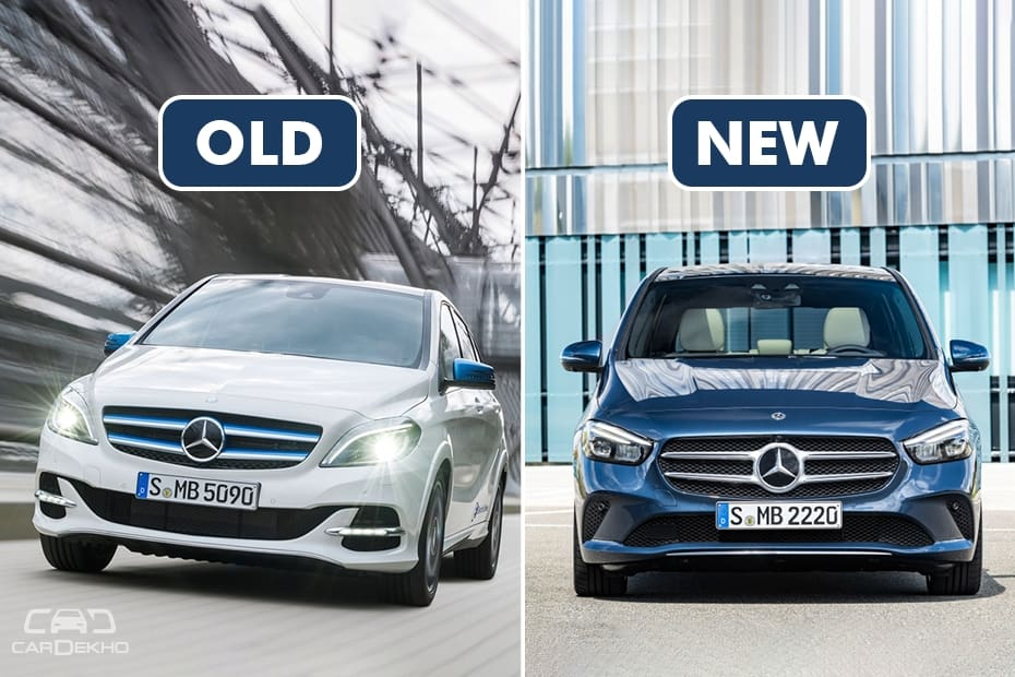 Mercedes Benz B Class Old Vs New Major Differences