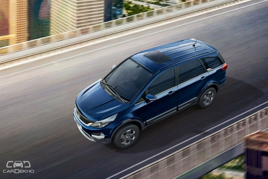 Tata Hexa XM+ launched at Rs 15 27 lakh