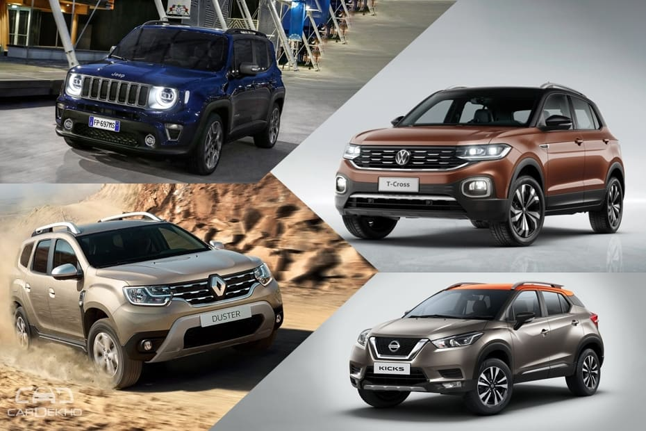 Upcoming compact SUVs