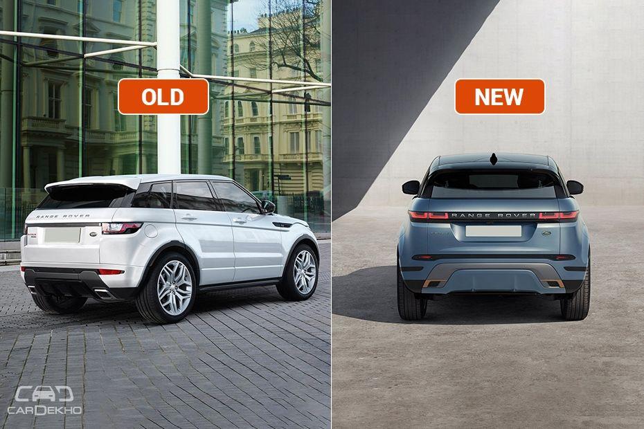 Evoque Old vs New