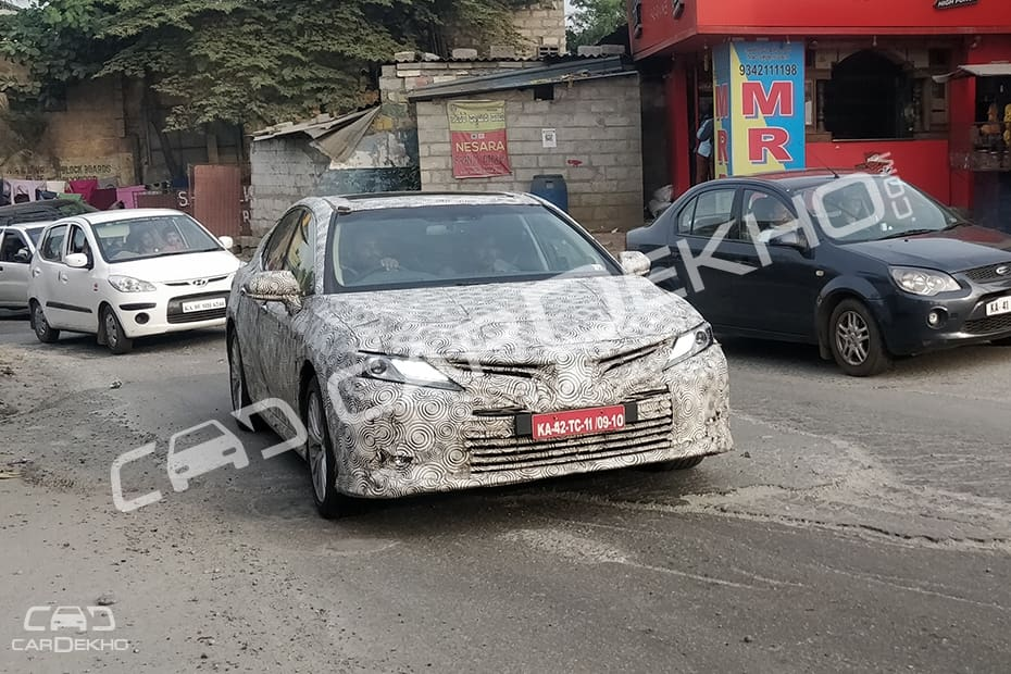 2019 Camry Spied
