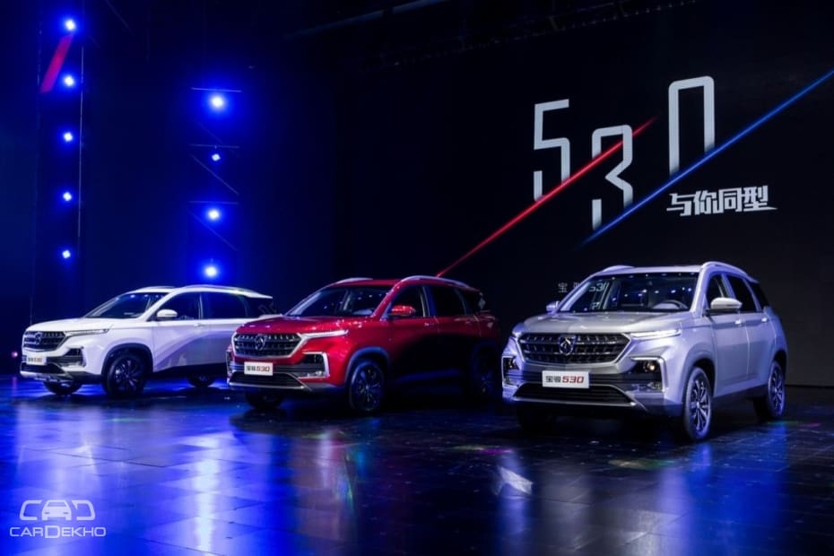 Baojun 530: The SUV on which MG's first SUV in India will be based