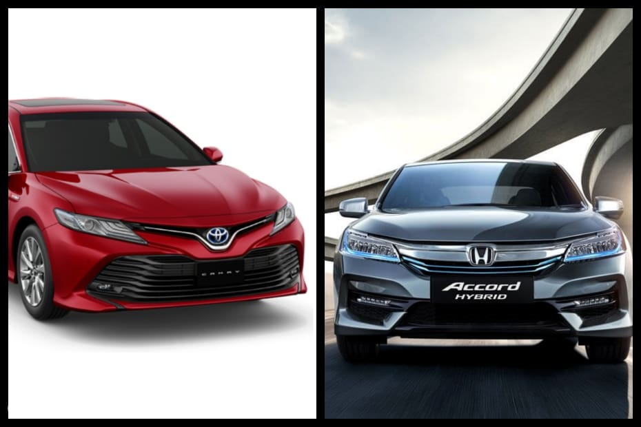 2019 Camry Hybrid vs Honda Accord Hybrid