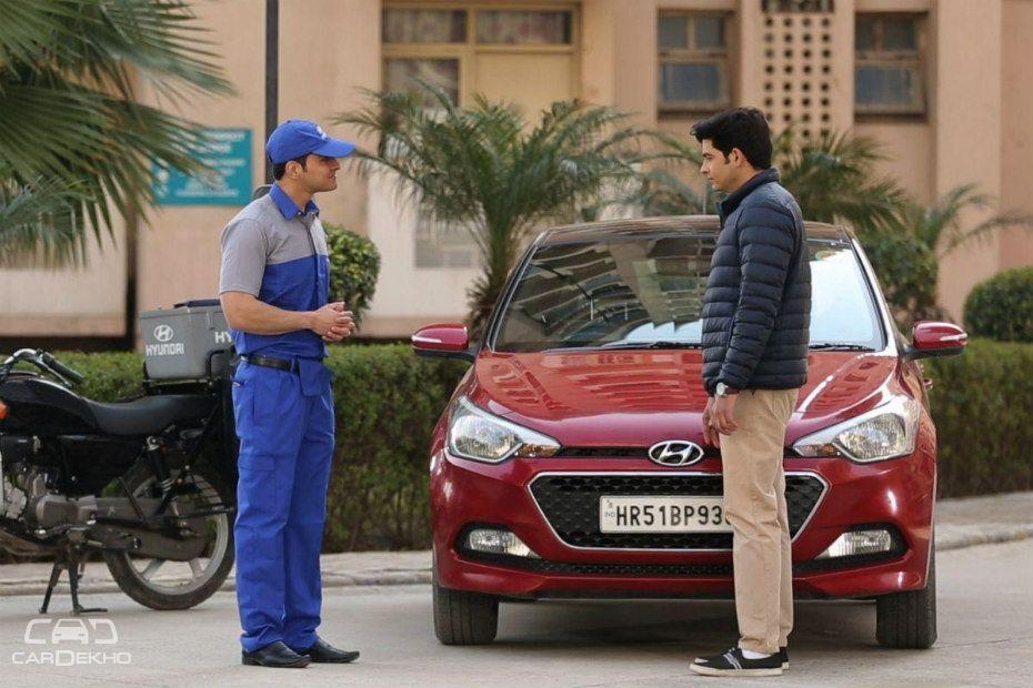 Hyundai door advantage service