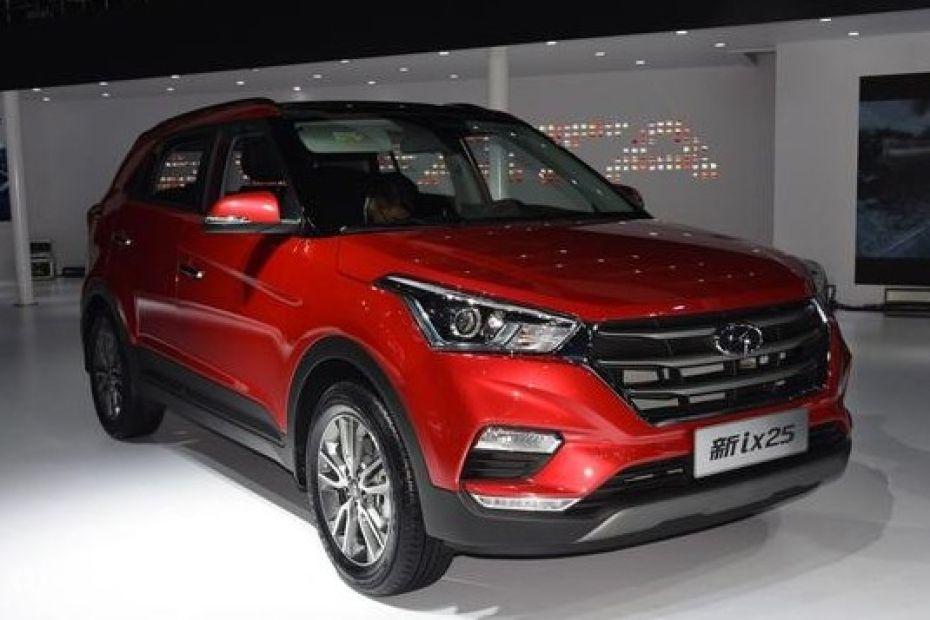 Existing China-spec Hyundai ix25