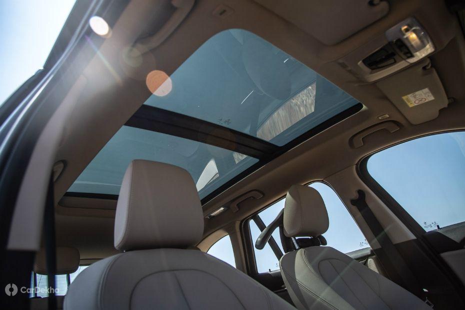 BMW X1 panoramic sunroof