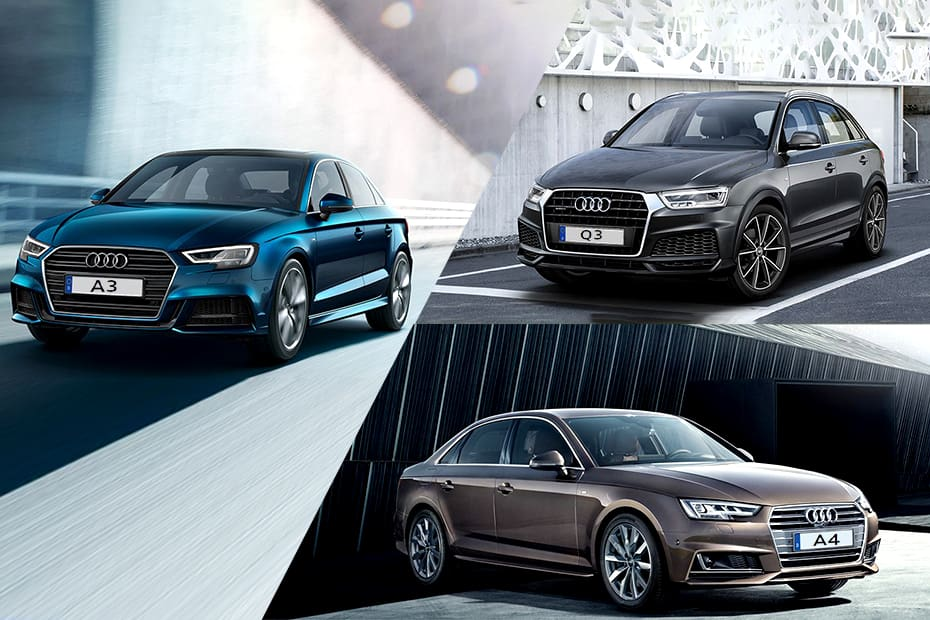 Audi A3 vs A4 vs Q3: Real-World Performance Comparison