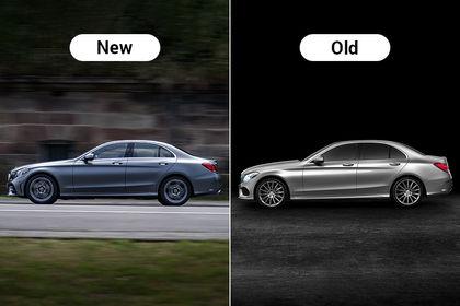 2018 Mercedes-Benz C-Class Facelift : New Vs Old - Major