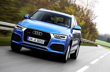 2019 Audi Q3 Spied Testing Gets Q8 Inspired Design Elements