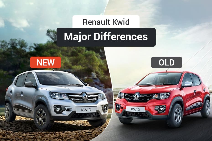 2018 Renault Kwid Old Vs New Major Differences Cardekhocom