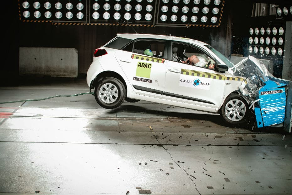 Made In India Hyundai Elite I20 Gets 3 Star Safety Rating In Global