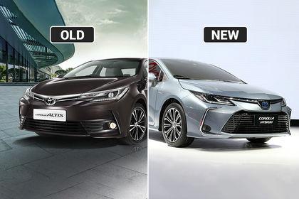 e1f60ce381e New Toyota Corolla vs India-spec Corolla Altis: Exterior & Interior Changes