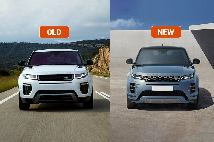 Range Rover Vs Land Rover >> Range Rover Evoque Old Vs New Major Differences Cardekho Com