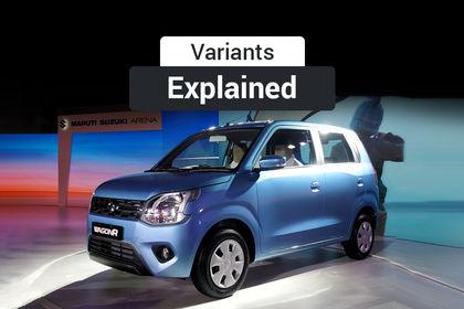 New Maruti Wagon R 2019 Variants Explained Cardekho Com