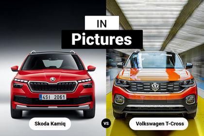 Skoda Kamiq Vs Volkswagen T Cross International Spec In Pics