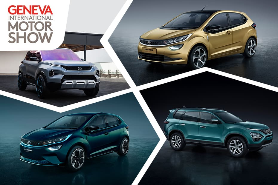 4 New Upcoming Tata Cars Showcased Altroz H2x Concept Harrier