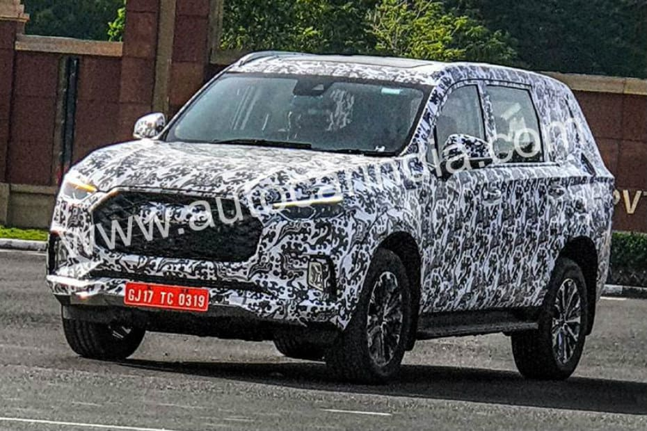 Toyota Suv Names >> Mg S Rival To Toyota Fortuner Ford Endeavour Spied In India