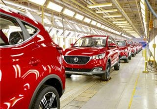 MG Motor To Buy Chevy's Gujarat Plant