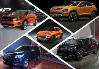 Top 5 SUVs At Auto Expo 2018: Tata H5X, Mahindra Rexton And More
