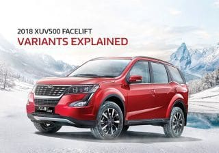 Mahindra XUV500 Specifications & Features, Configurations