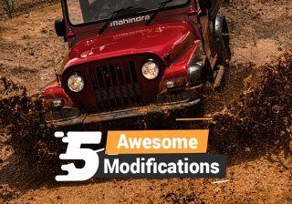 5 AWESOME Mahindra Thar Modifications – Beast, Daybreak, Hammer & More