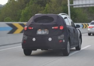 Hyundai i20 Active Facelift In Works, Spied Testing In Korea