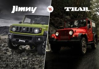 2018 Suzuki Jimny vs Mahindra Thar CRDe: Specifications & Features Comparison