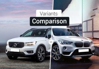 Volvo XC40 vs BMW X1: Variants Comparison