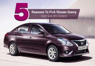5 Reasons To Pick Nissan Sunny Over Sub-4m Sedan