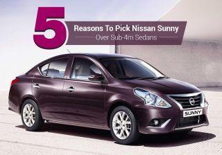 5 Reasons To Pick Nissan Sunny Over Sub-4m Sedan