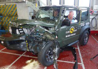 Suzuki Jimny Scores 3-Star Euro NCAP Crash Test Rating