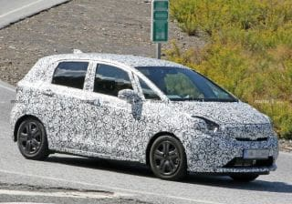 Fourth-gen Honda Jazz Spied For The First Time