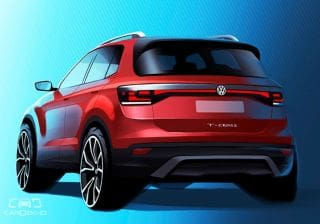India-bound Volkswagen T-Cross To Debut In October