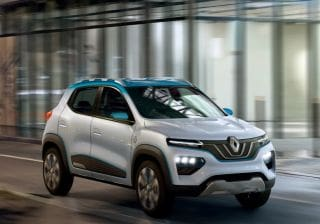 Renault Kwid-Based Electric Car Concept K-Ze Revealed At Paris Motor Show 2018