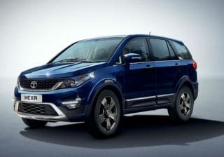 Tata Hexa XM+ Launched At Rs 15.27 Lakh