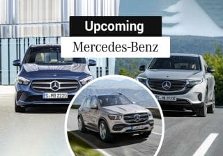 Mercedes-Benz GLC Facelift, New B-Class, CLA & GLS To Debut In 2019