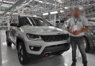 India-spec Jeep Compass Trailhawk Production Begins