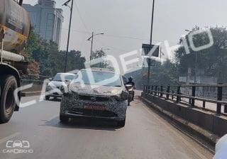 Tata 45X Spied Testing Again; Here's What We Know