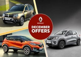 Renault December Offers: Discounts Of Upto Rs 2 Lakh On Kwid, Captur, Duster