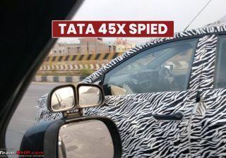 रोड टेस्टिंग के दौरान फिर नज़र आई टाटा 45एक्स, 2019 में होगी लॉन्च