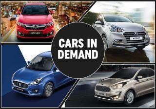 Cars In Demand: Maruti Dzire, Honda Amaze Top Segment Sales In November 2018